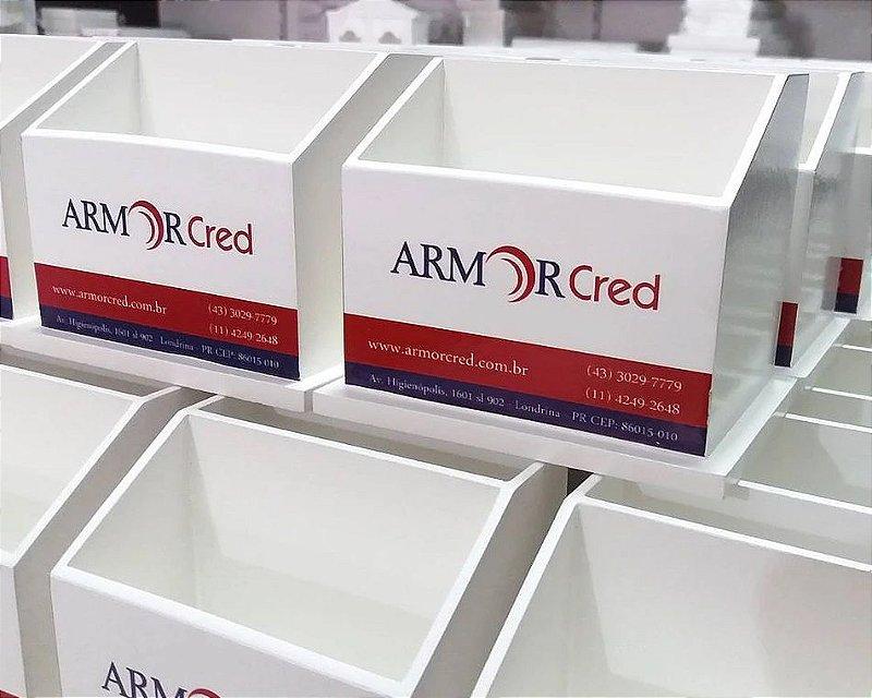 ARMOR CRED - Porta Lápis e Cartão Personalizado