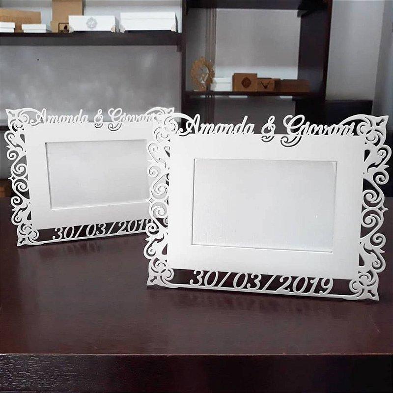 Porta Retrato para foto 10x15 Personalizado com Nome e Data