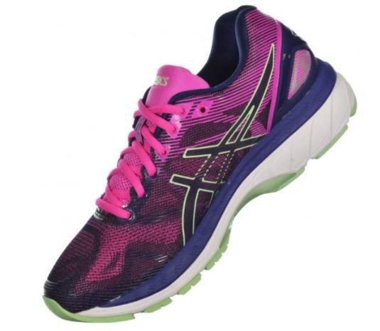 Tênis Asics Gel Nimbus Nimbus 19 Féminin 2948 Rosa e Preto Sport Sport Run 27114b7 - artisbugil.website