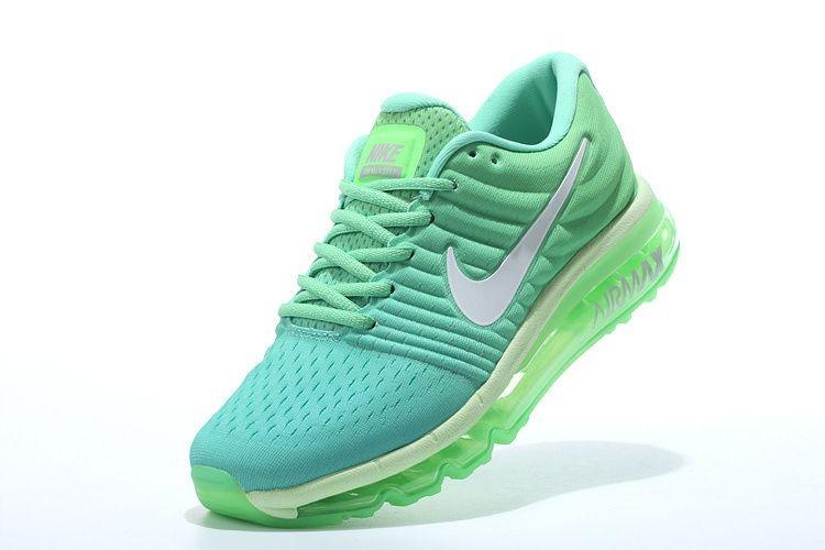 nike air max azul e verde
