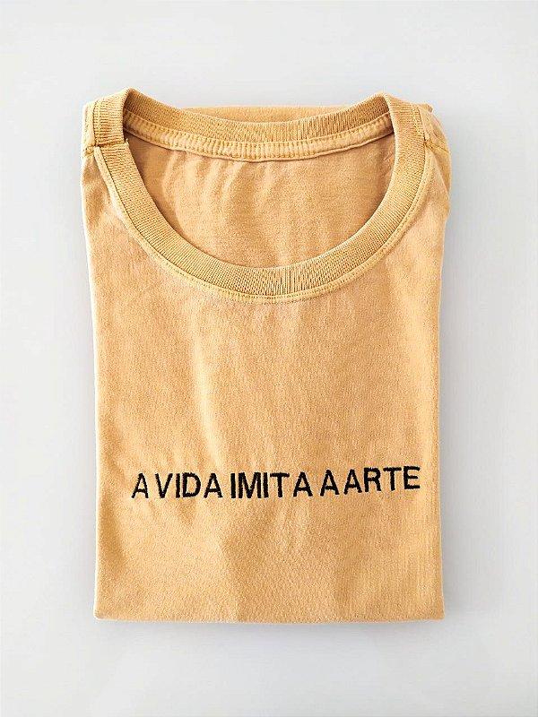 Camiseta A vida imita a arte