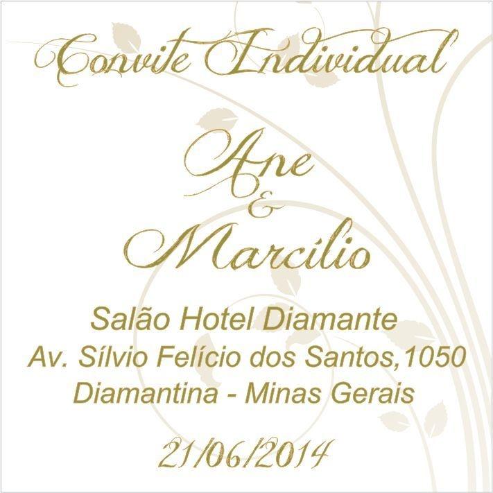 Convite Individual ESPECIAL