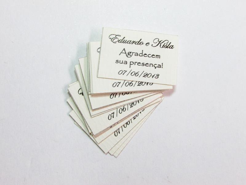 Tags para bem casados
