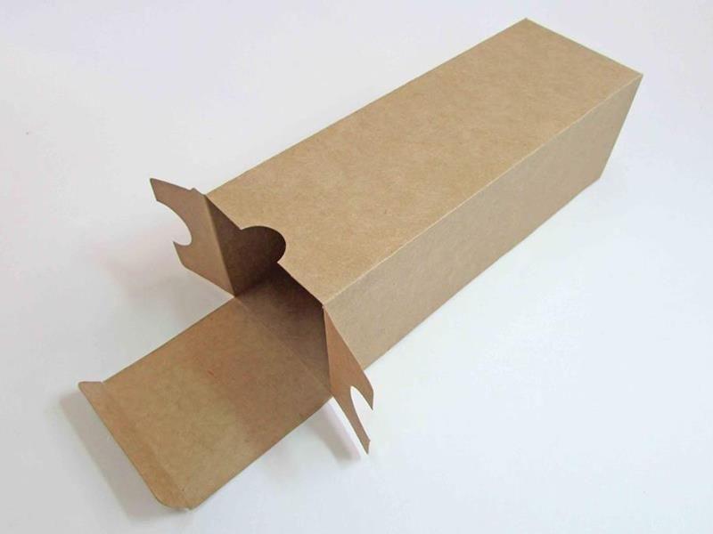 Caixa para licor ou mini espumante (7 x 8 x 23 cm de altura)