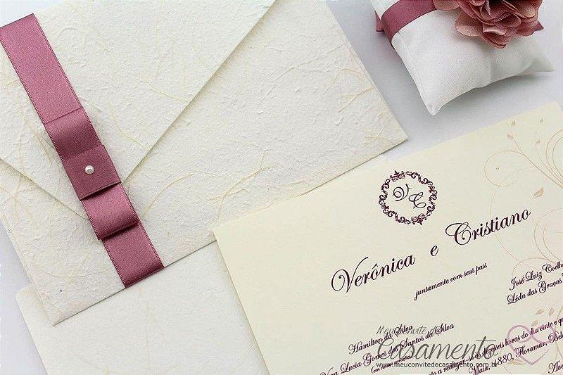 Convite Clássico (Pectolita)