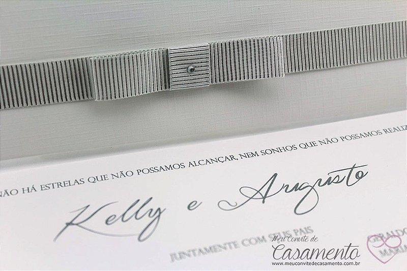 Convite Clássico Luxo (Ágata)