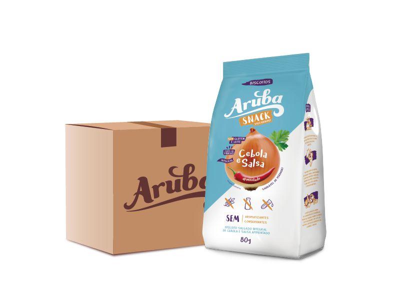 Aruba Snack Salgadinho - Cebola e Salsa