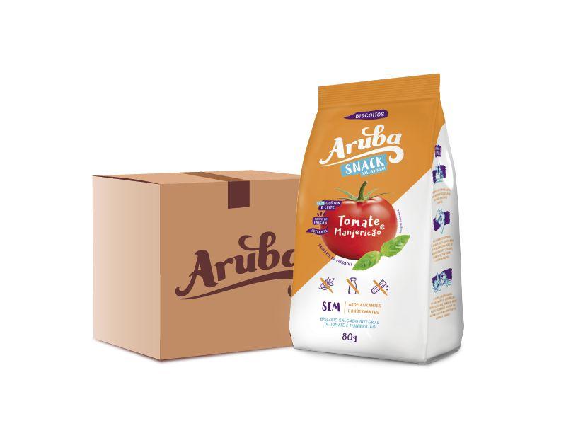 Aruba Snack Salgadinho - Tomate e Manjericão