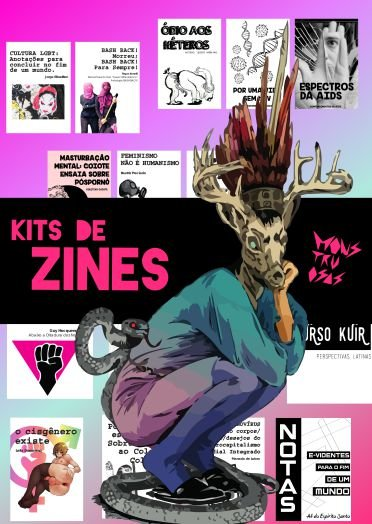 ZINE MONSTRUOSAS - KIT