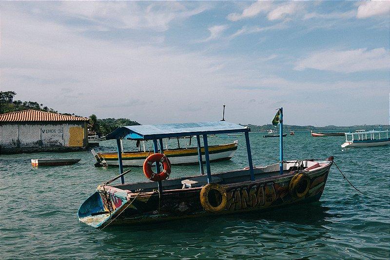Embarcação - Ilha de Maré • ©Holanda Cavalcanti