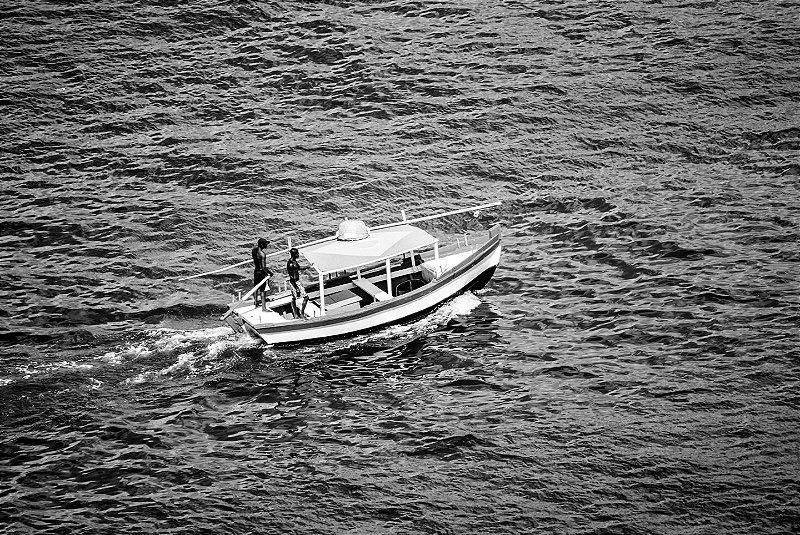 Embarcação - Baía-de-Todos-os-Santos P&B • Print Fine Art • ©Holanda Cavalcanti