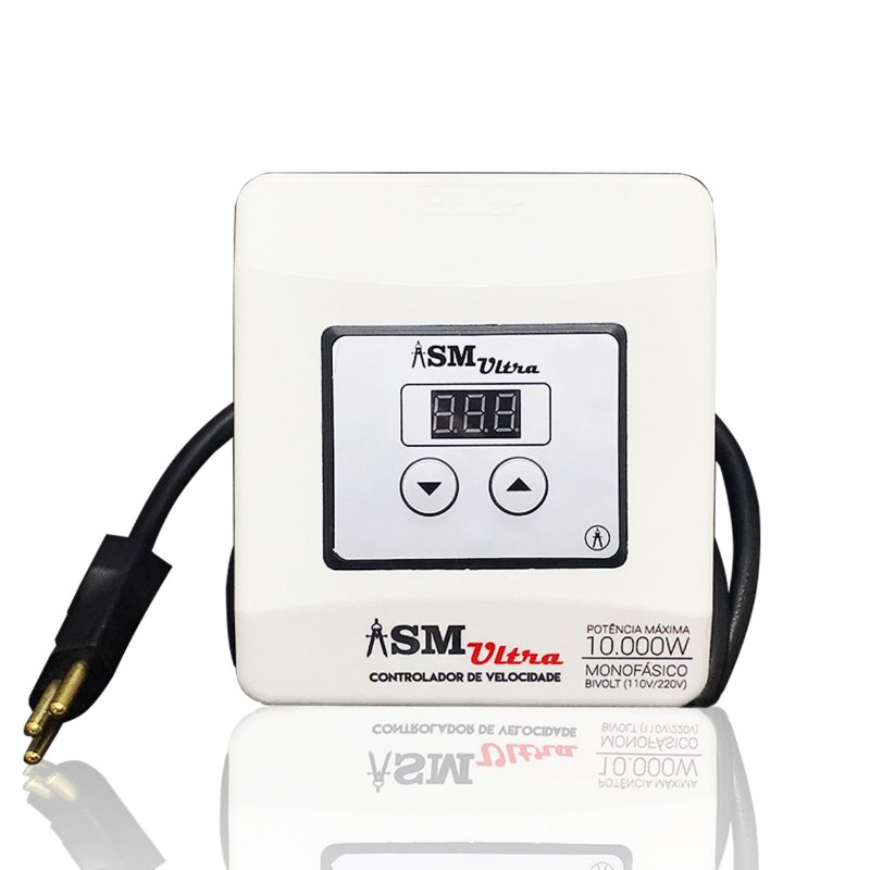 Controlador de Velocidade ASM Ultra | Para motores monofásicos