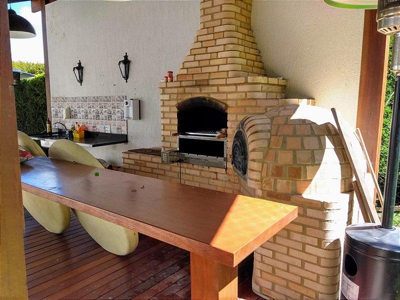 Churrasqueira+ Fogão + Forno de Pizza Quina