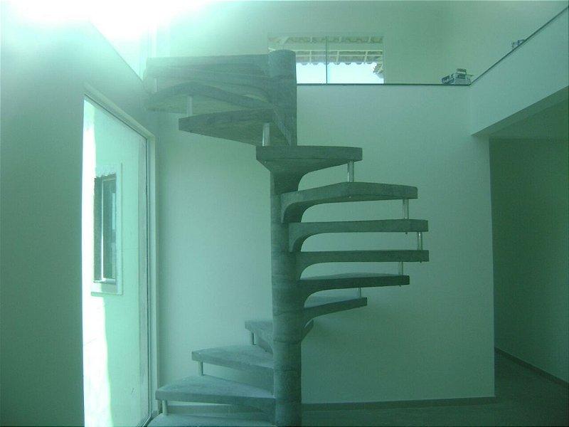 Escada Caracol Pré Moldada 14 Degraus