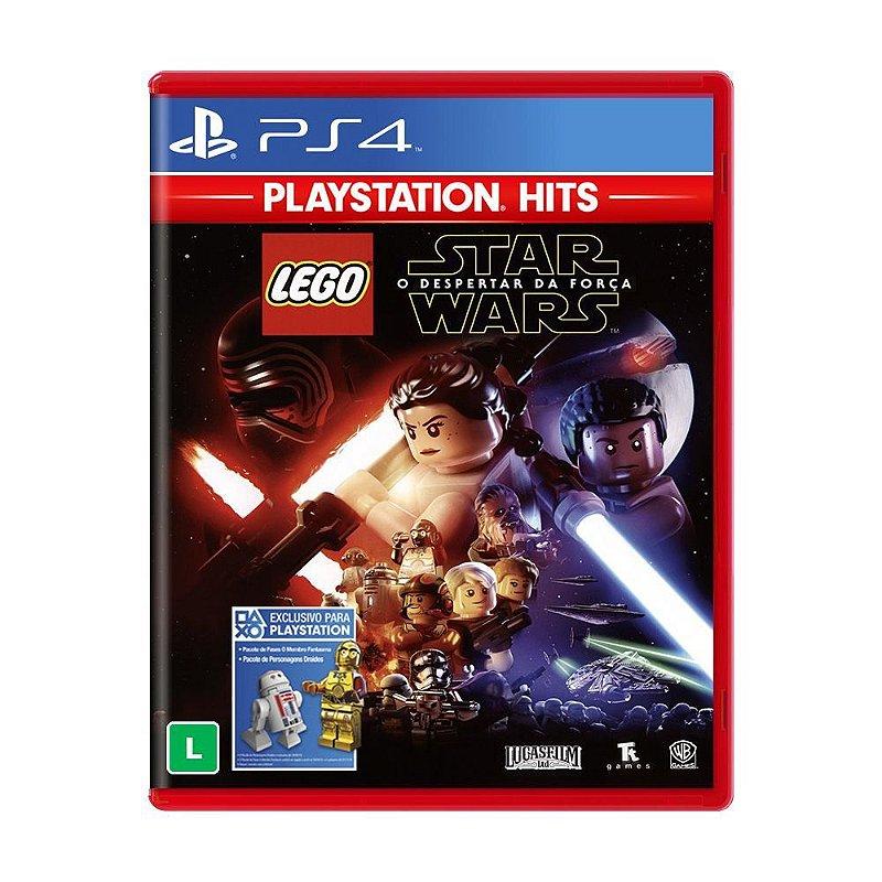 jogo lego star wars o despertar da força  ps4  game