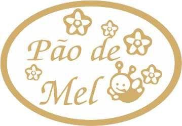 Etiqueta Pao De Mel Abelhinha Flores 100 Unidades Massai