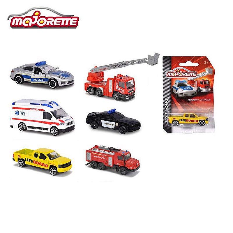 MAJORETTE S.O.S CARS SORTIMENTO 1/64