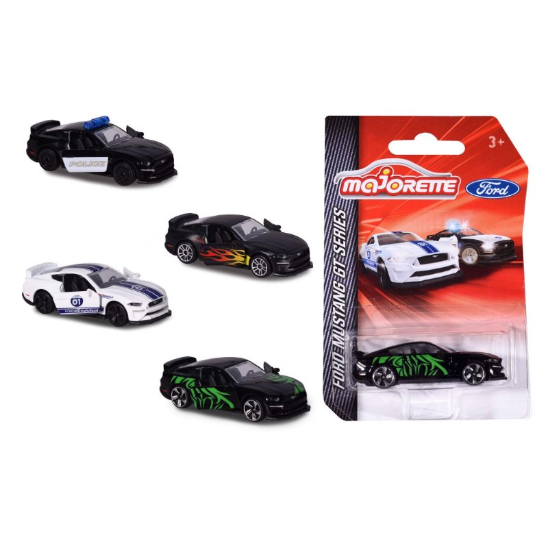 PREMIUM VINTAGE FORD MUSTANG SORTIMENTO 1/64
