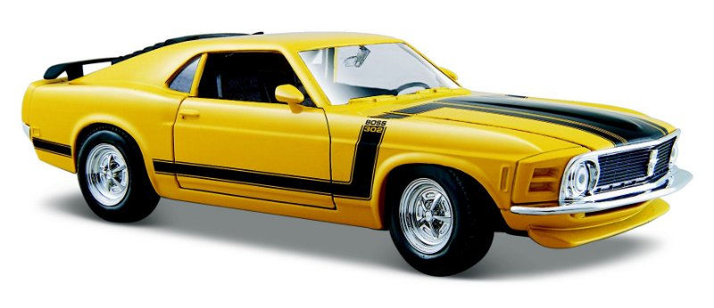 1970 FORD MUSTANG BOSS 302 1/24