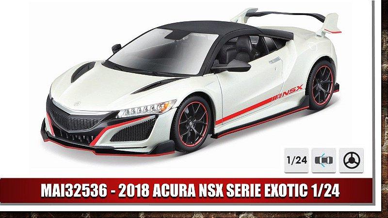 2018 ACURA NSX SERIE EXOTIC 1/24