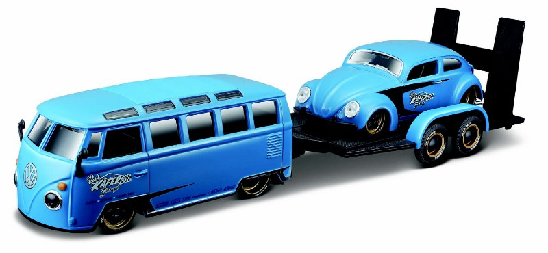 VW KOMBI + VW FUSCA 1/24