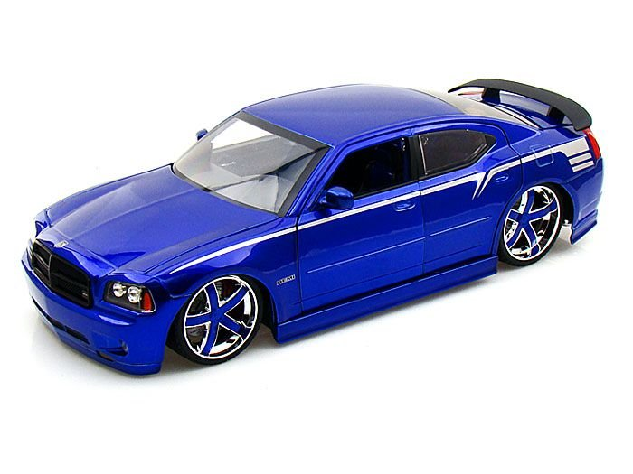 2006 DODGE CHARGER PURPLE LOPRO 1/18