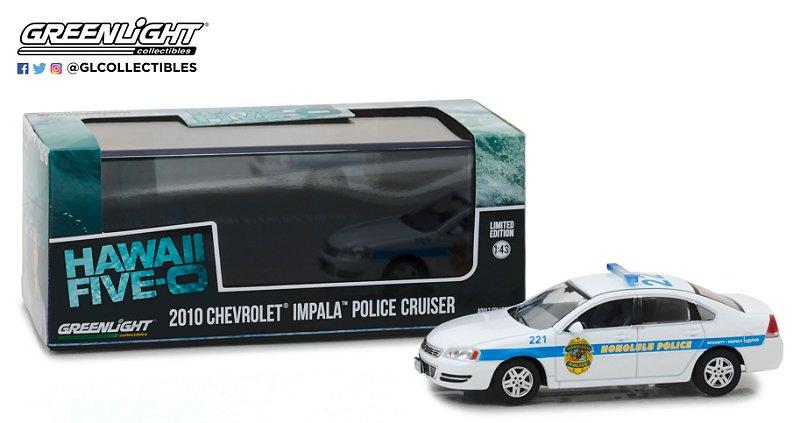 """2010 IMPALA """"HAWAII FIVE-0"""" HONOLULU POLICE 1/43"""
