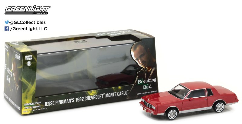 1982 CHEVY MONTE CARLO BREAKING BAD 1/43