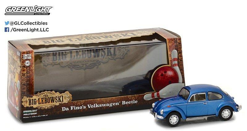 """VW FUSCA DA FINO'S """"THE BIG LEBOWSKI"""" 1/43"""
