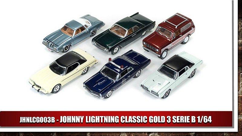 1:64 JOHNNY LIGHTNING CLASSIC GOLD 3 SERIE B