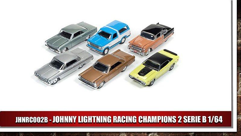 JOHNNY LIGHTNING RACING CHAMPIONS 2 SERIE B 1/64