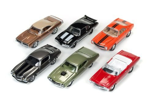 JOHNNY LIGHTNING MUSCLE CAR 3 SERIE A