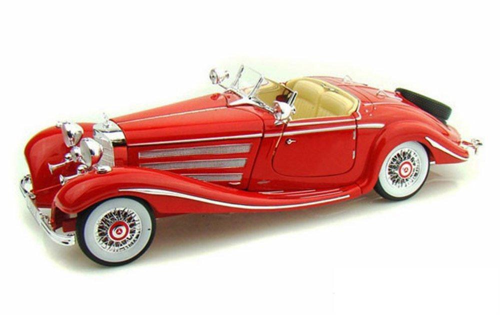 1936 MERCEDES BENZ 500K SPECIAL ROADSTER 1/18