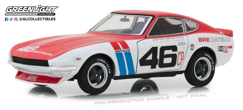 1:24 1970 DATSUN 240Z BROCK RACING ENTERPRISES #46 TOKYO TORQUE