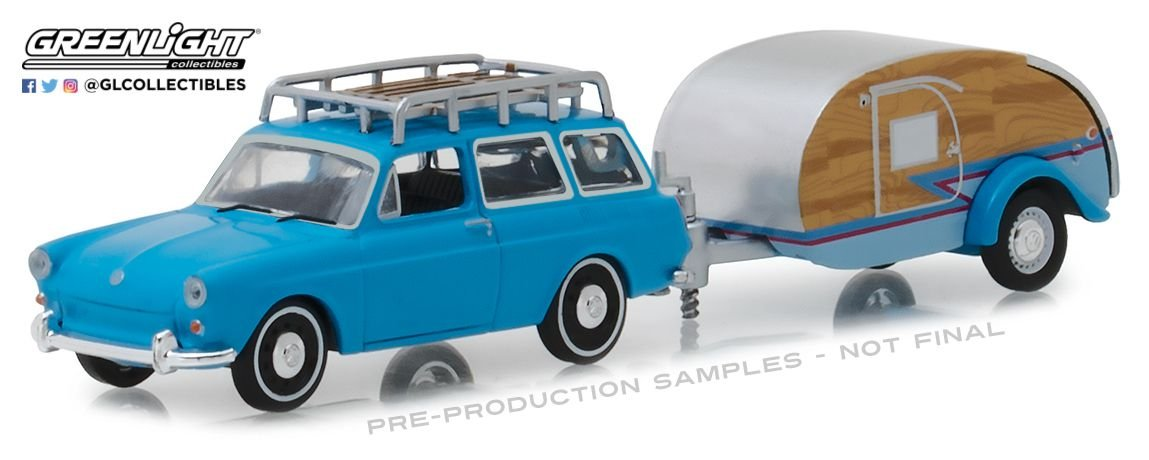1961 VW TYPE 3 HITCH TOW SERIE 14 1/64