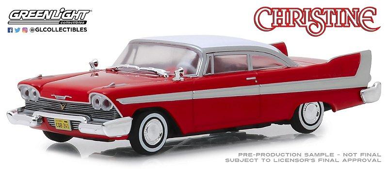 1958 PLYMOUTH FURY CHRISTINE 1/43