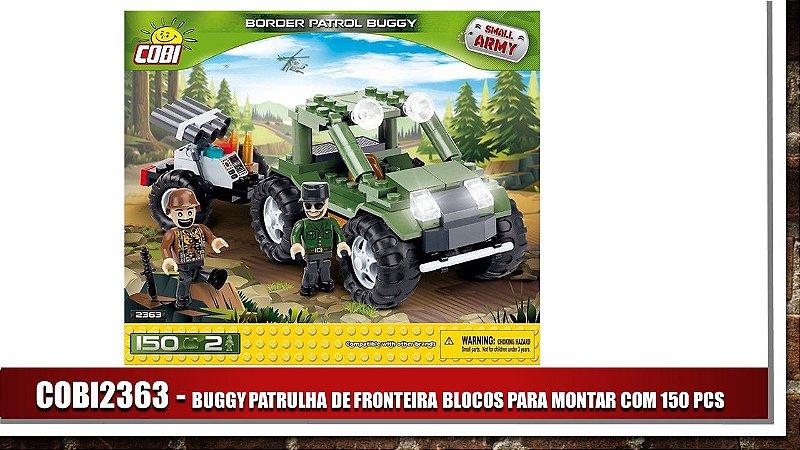 BUGGY PATRULHA DE FRONTEIRA BLOCOS PARA MONTAR COM 150 PCS