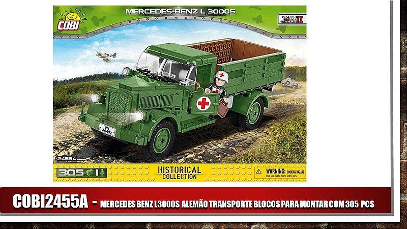 MERCEDES BENZ L3000S ALEMÃO TRANSPORTE BLOCOS PARA MONTAR COM 305 PCS