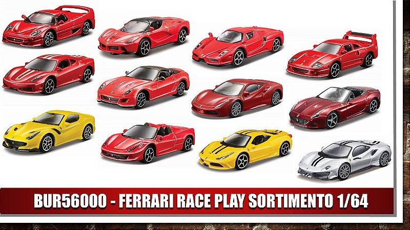 FERRARI RACE PLAY SORTIMENTO 1/64
