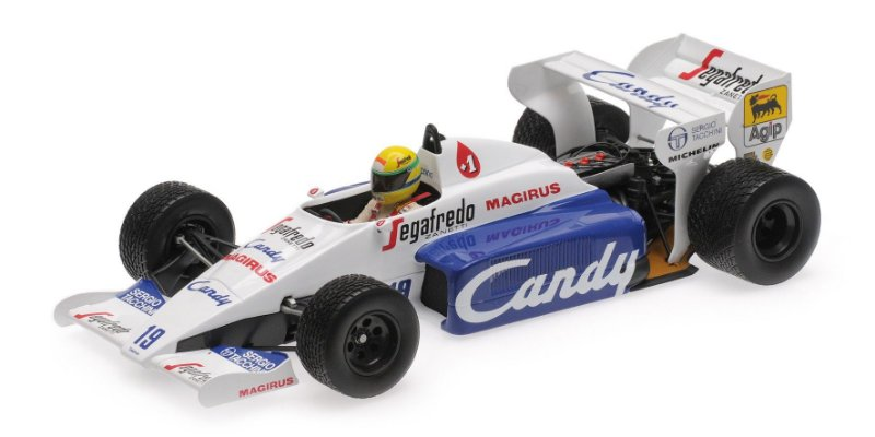 TOLEMAN HART TG184 AYRTON SENNA MONACO GP 1984 1/18