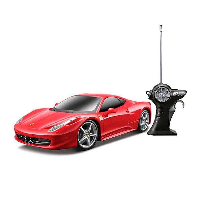 FERRARI 458 ITALIA RADIO CONTROLE 1/24