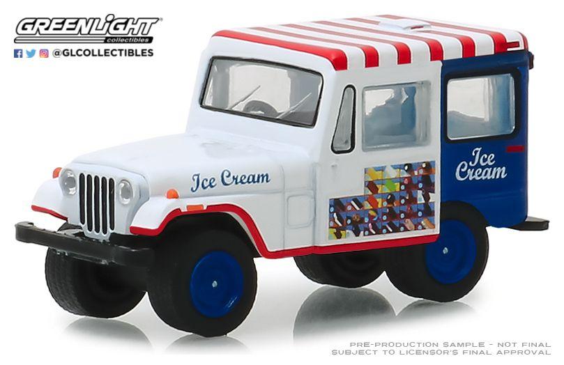 1:64 1975 JEEP DJ-5 ICE CREAM TRUCK