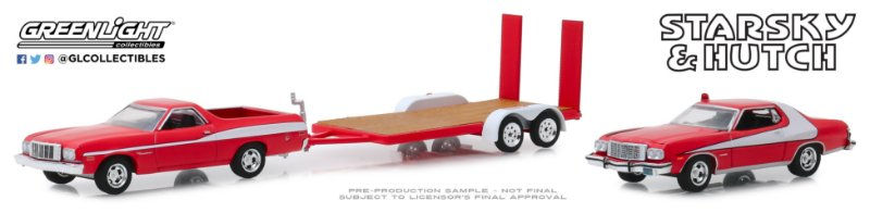 1:64 HOLLYWOOD HITCH & TOW SERIE 7 SATRSKY AND HUTCH