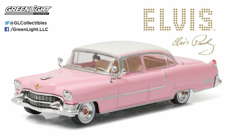 1955 CADILLAC FLEETWOOD SERIES 60 EVLIS PRESLEY 1/43