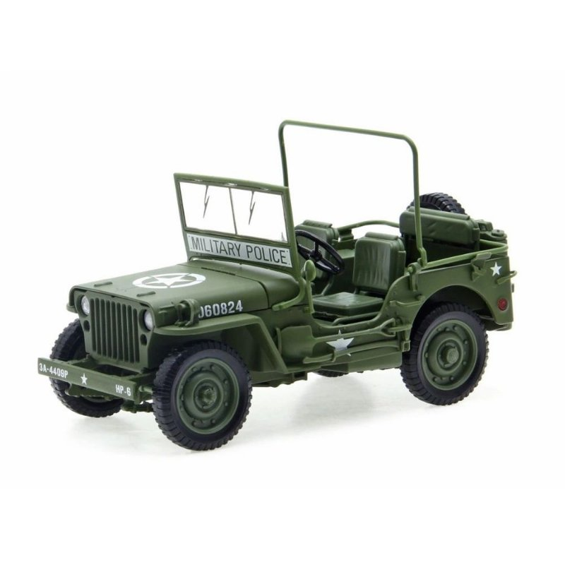 1:18 JEEP WILLYS OLIVE