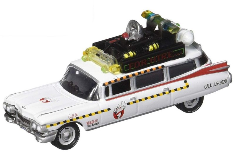 JOHNNY LIGHTNING GHOSTBUSTERS ECTO-1A 1/64