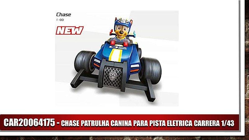 CHASE PATRULHA CANINA PARA PISTA ELETRICA CARRERA 1/43