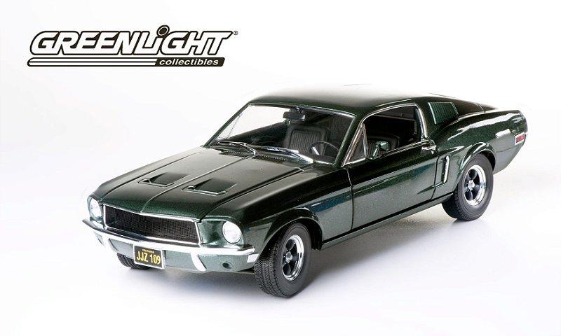 1:18 1968 FORD MUSTANG GT FASTBACK BULLIT