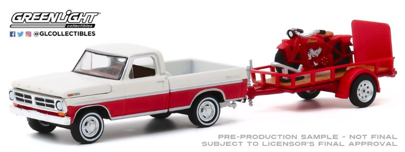 1:64 1972 FORD F-100 HITCH & TOW HITCH & TOW