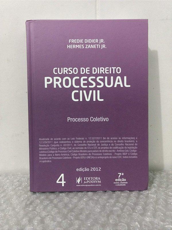 4a1156270b5 Curso de direito Processual Civil 4 - Fredie Didier Jr. e hermes Zaneti Jr  - Seboterapia - Livros